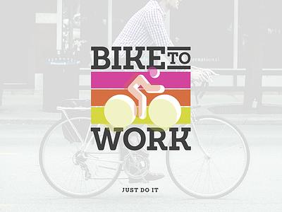 Bike to Work inspiration motivation biketowork biking work bike