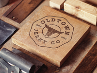 Old town Jerky Co. logo