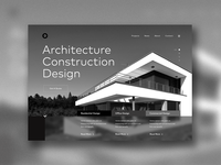 Architecture website concept