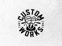 Custom Works Logo