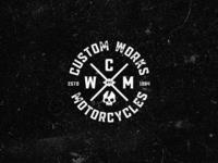 Custom Works Motorcycles 3rd logo