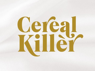 Cereal Killer Shirt Design