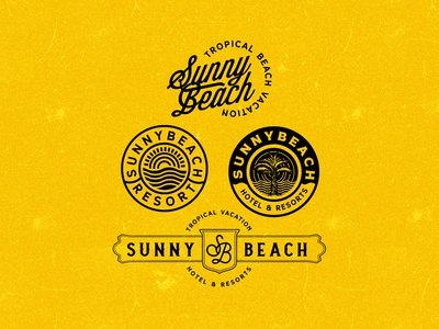 Sunny Beach logo exploration