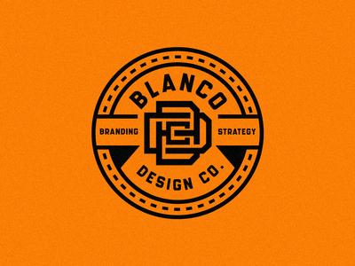 Blanco Design Co. Badge logo exploration