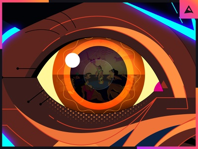 TO BE REMEMBERED / CONCEPT ART reflection eye monkey concept character design photoshop animation illustration