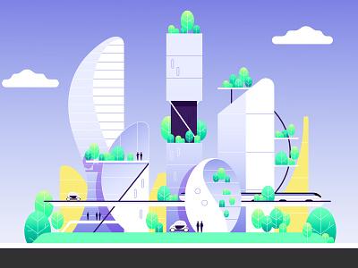 AUROPOLIS design motion graphics concept art concept photoshop illustration