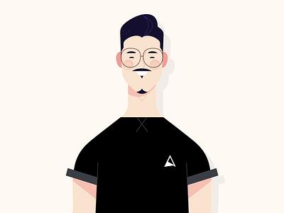 Alfredo - Halloween halloween 2d motion graphics character design photoshop animation
