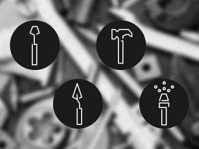 Tool Icons screwdriver hammer tool icons icons icon tools tool