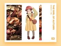 the girl of autumn
