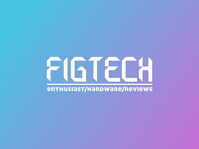 FigTech - Logo/type custom font type logo figtech