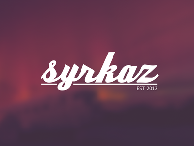 Syrkaz Branding Refresh social media gaming banner