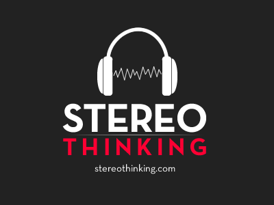 Stereo Thinking topsecret upcoming excited brain thinking red grey white