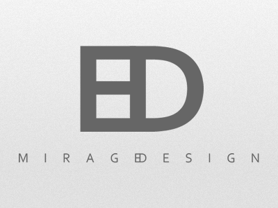 Mirage Design backwhenihadfreetime fictitious fun logo identity monochrome