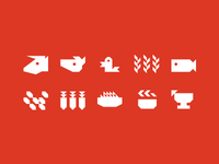 Alkali Flats Icons