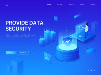 Data security illustrations