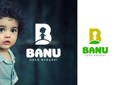 Banu usaq bagcasi logo logomandesign 01