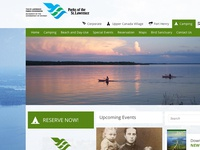 St. Lawrence Parks Websites Refresh