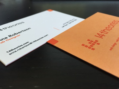New Cards business cards cards letterpress everlovin 14 theories print
