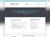 Clinical Trials Simple Landing Page