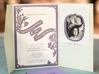 Printed Invite wedding wedding invite invitation wedding invitation letterpress print