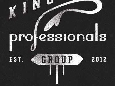 Kingston Young Professionals Group Logo logo hand drawn lettering typography identity