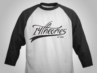 14 Theories Baseball Tee Idea baseball tshirt t shirt tee shirt tee hand drawn hand lettered lettering typography print screen print