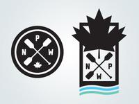 National Paddle Week Unused Logo Concepts