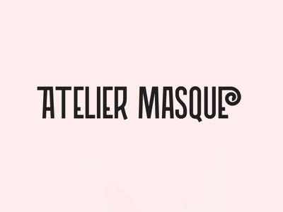 Atelier Masque 😷 artwork visual design masque mask covid19 web app website typography ui ux design illustration creation packaging branding logo