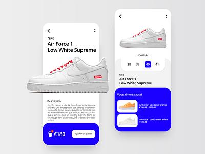 Sneakers Marketplace 👟 app design emojis emoji shopping shopping app shoes shoes app marketplace application design branding ux ui app creation sneakers