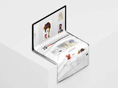 Stephanie Raphael - Art Gallery 🎨 webdevelopment webdesign website art print artist artwork ux art application anytime typography app illustration design creation logo branding
