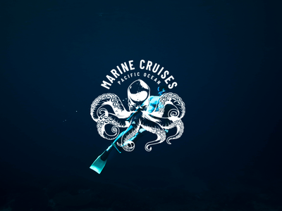 Marine Cruises 🌊 creation branding illustration vector cruises marine surfing surface design surf logo design