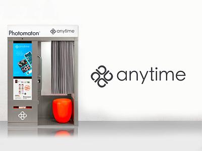 Photomaton by Anytime 📸 photo branding finance app bank anytime