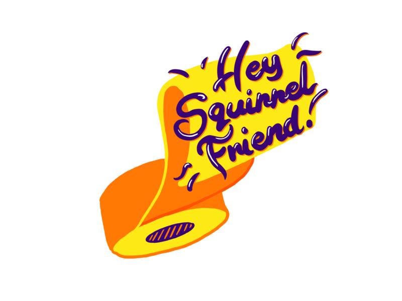 hey squirrelfriend squirrelfriend photoshop digital painting design illustration