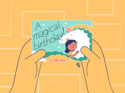 A magical birthday