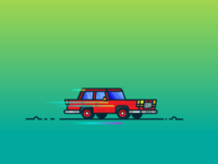 Retro Car 🚗