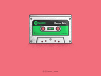 Cassette of Spotify