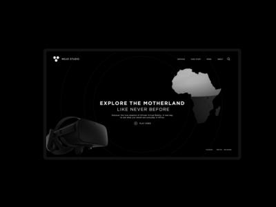 VR + 3D Quick Sketch cinema4d 3d web design ux ui