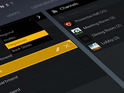 Intelligent Media System web ui app application media interface