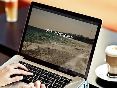 Personal portfolio update web portfolio ui design
