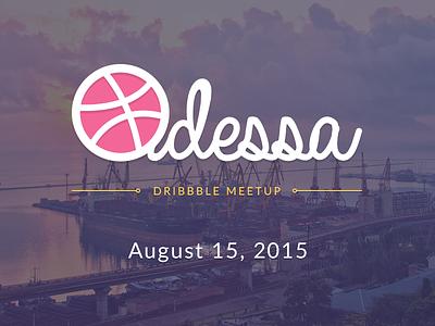 Ukrainian Dribbble Meetup 2015 slavaukraini logo ukraine odessa meetup dribbble