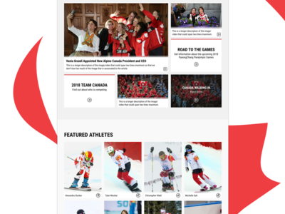 Canada Paralympic Committee - Homepage homepage web paralympics canada team sports