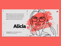 Wine Label - Alicia