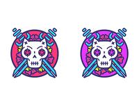 Vegaanimiehet - logo(variations)