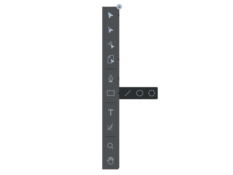 Tools Panel panel icons ui editor tools