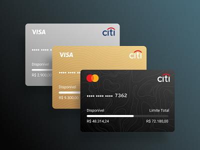 Citi Bank - Credit Card citi bank ui interface finances payment form payment ecommerce bank app balance checkout credit card payment credit card