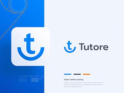 Tutore - Brand Design appstore icon user interface education clean brand brand design logo design logotype tutoring tutor education logo education app educational branding design branding