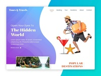 Tours and Travels - Web Design