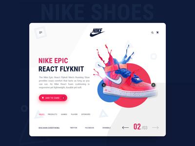 Shoes Product Design - eCommerce