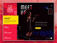 Event meet up - Web project