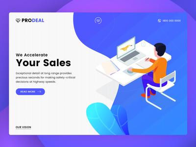 Pro Deal - Business Website Design